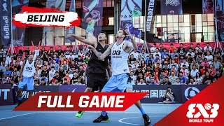 Ljubljana (SLO) v Beijing (CHN) - QF - Full Game - Beijing - 2015 FIBA 3x3 World Tour thumbnail