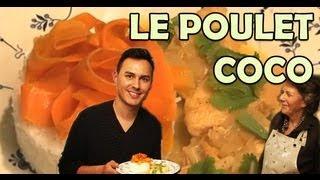 Hervé cuisine chez vous... un poulet coco