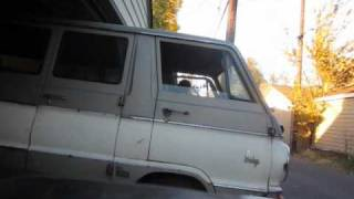 first drive of project van hell dodge a100