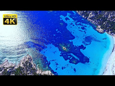 4K Corsica - Breathtaking Views From Above - 4K Video Ultra HD