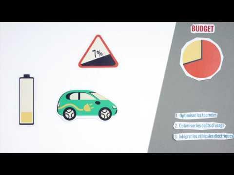 Antsway: Optimisation de tournées et intégration de véhicules électriques