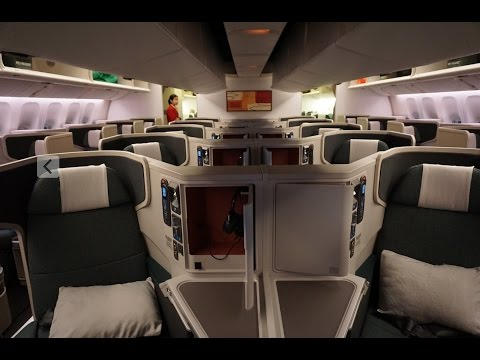 Cathay Pacific Business Class | CX889 | New York to Hong Kong