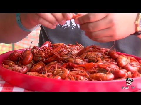The Ultimate Sport: Crawfish Eating