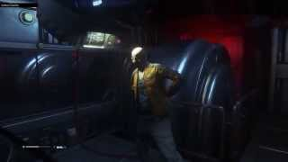 GAMEPLAY ALIEN ISOLATION #2 AXEL, WIEŻA LORENZ SYNTECH PS4 mic 1080p