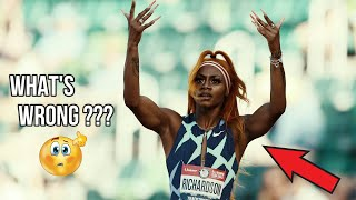 10.72 to 11.19   What Is Happening To Sha'Carri Richardson ?