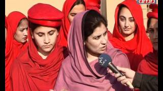Repeat youtube video Pakhtun Women to give guard of honor