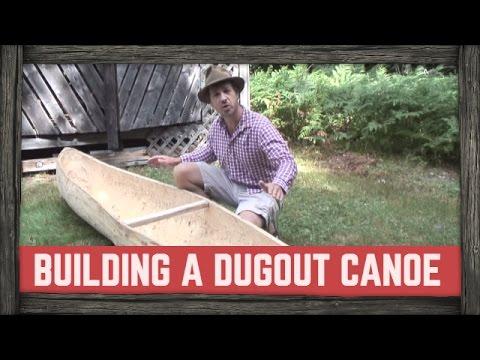 how to make dugout canoe