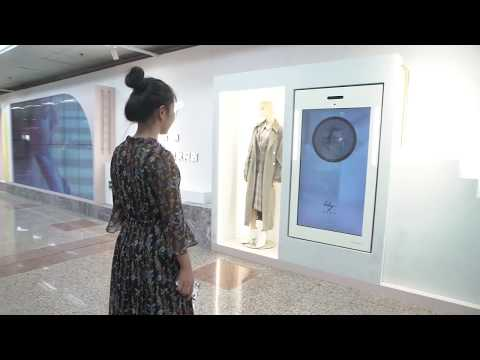 AR virtual fitting rooms for Lily in Shanghai metro | STDecaux