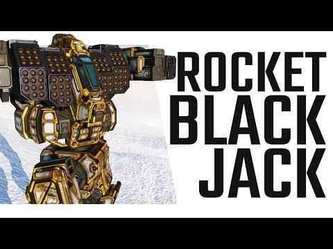 I am the Rocket Man! Blackjack Loyalty Mech Build - Mechwarrior Online The Daily Dose #485