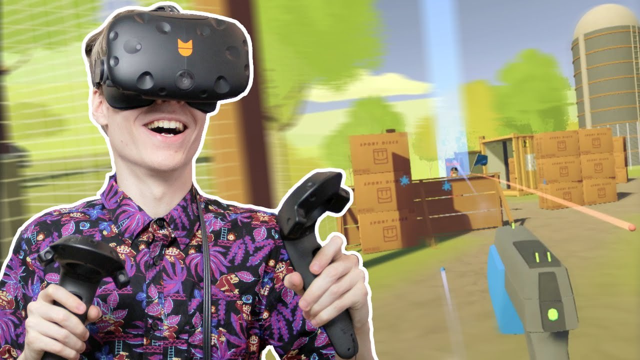 EPIC VIRTUAL PAINTBALL FIGHT! | Rec Room VR (HTC Vive Gameplay)