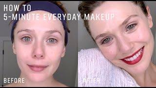 Elizabeth Olsen's Less Than 5-Minute Fresh Faced Makeup Routine | Bobbi Brown Cosmetics