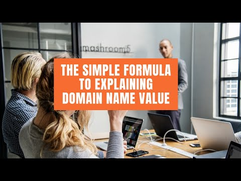The simple way to explain a Domain Name Value