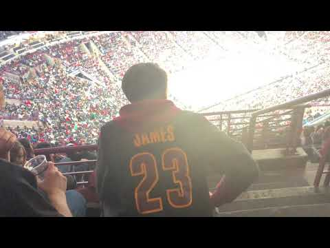 Cleveland Cavaliers Fan at the United Center. ⛹🏽♂️🤷🏽♂️