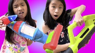 Pretend Play Smart Robot Toy Cleaning