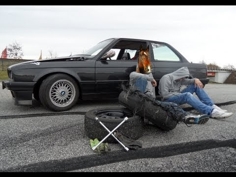 GoPro - HD Drifting day, Burnout, Fun, BMW E30