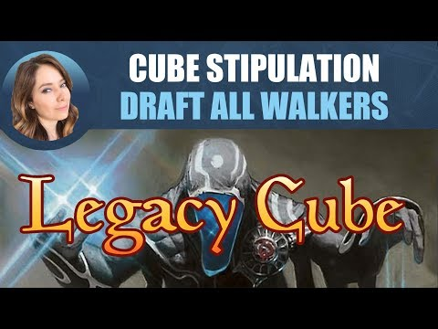 Legacy Cube Stipulation Draft - Draft All Planeswalkers / Magic: The Gathering