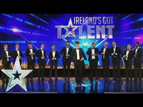 Trinitones put a classical twist on some modern hits  Auditions Series 1  Ireland&39;s Got Talent