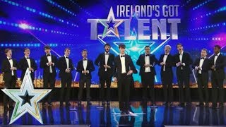 Trinitones put a classical twist on some modern hits | Auditions Series 1 | Ireland's Got Talent