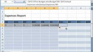 Linking Data from Different Excel Sheets and Workbooks thumbnail