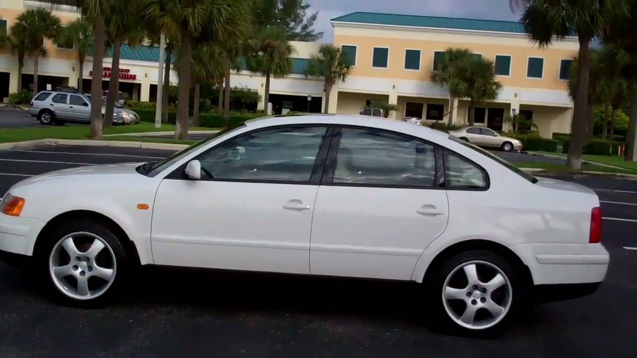 1998 Vw Passat Gls 1 8t 1owner Like New Youtube