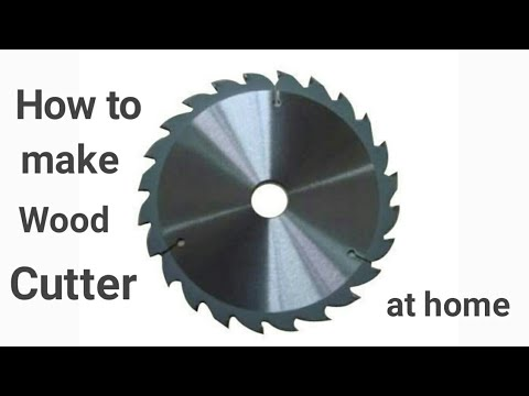 how to make wood cutter at home | simple idea | techie bug | DIY |