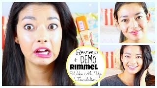 RIMMEL Wake Me Up Foundation REVIEW + DEMO ♡ 50VoSummer Thumbnail