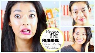 RIMMEL Wake Me Up Foundation REVIEW + DEMO ♡ 50VoSummer Thumbnail