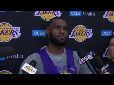 LeBron: We've Played Well Enough to Win