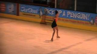 Amy Irwin from Dundonald Ice Rink Ice Skating to Adiemus by Enya