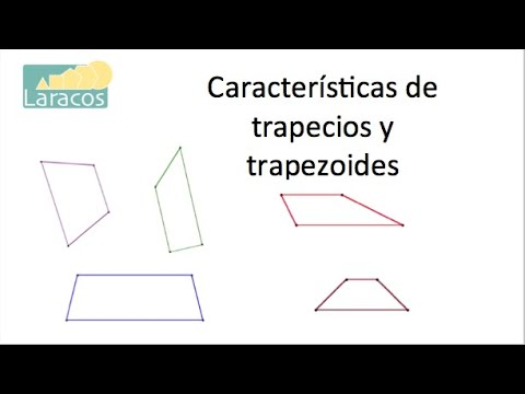 Caracter sticas de los trapezoides youtube for Que son los comedores escolares