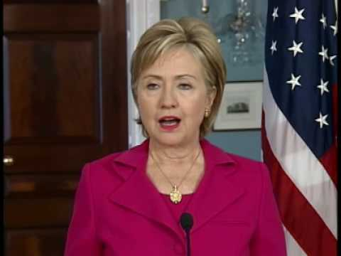 Secretary Clinton Meets With Czech Republic Foreign Minister