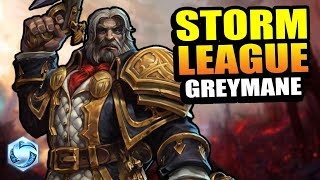 Greymane - hots content is back! // Storm League - Master