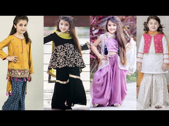 Pakistani EID dresses 2020 || EID dress collection || pakistani childrens clothes || Kaur Trends