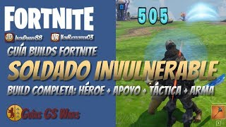 Comment faire un soldat (presque) INVULNERABLE à FORTNITE Guide BUILDS Save the World