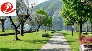 Motorhome Route to Camping Lago d'iseo, Italy