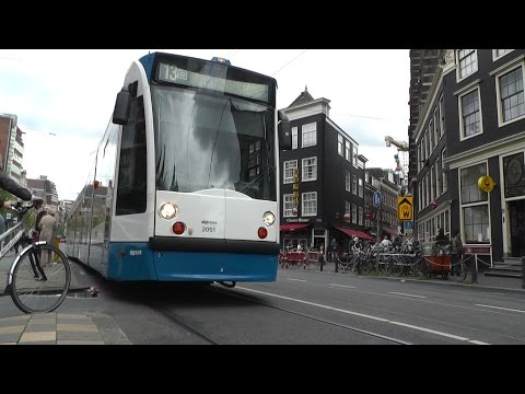 Amsterdam Trams .. And A Few Buses GVB