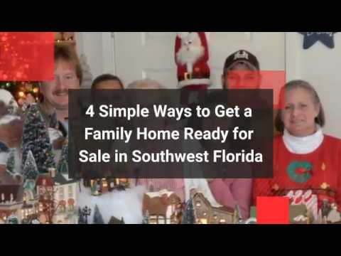 4 Simple Ways to Get a Family Home Ready to Sell in Southwest Florida