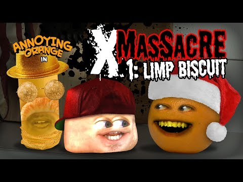 Annoying Orange - X-Massacre #1: Limp Biscuit