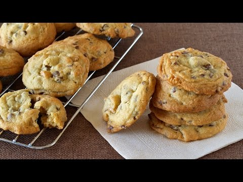 Soft and Chewy Chocolate Chip Cookies チューイーチョコレートチップクッキー - OCHIKERON - CREATE EAT HAPPY