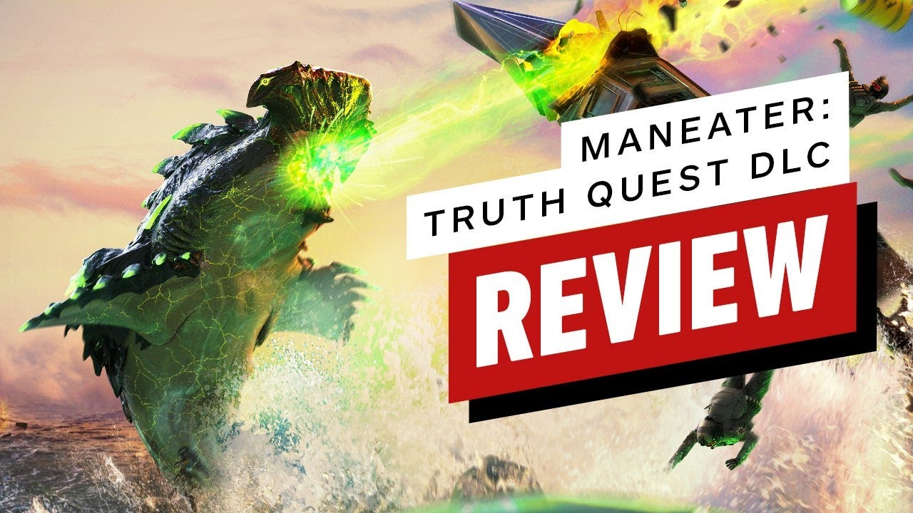 Maneater: Truth Quest Review (Video Game Video Review)