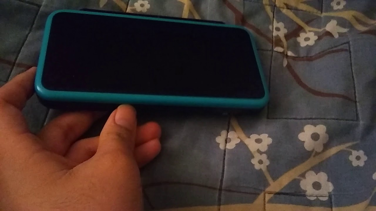 2ds Xl Black Screen Of Death Please Help Youtube