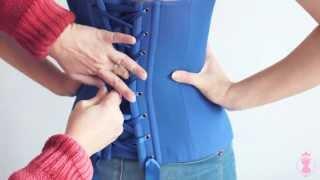 Как правильно зашнуровать корсет