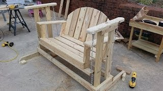 How To Build A Porch Swing Glider.