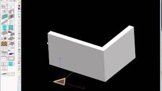 Урок моделирования окна в программе Дом-3D