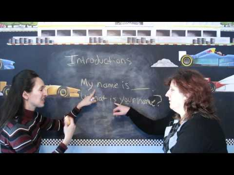 Lesson 6  - Introducing Yourself - Learn English with Jennifer