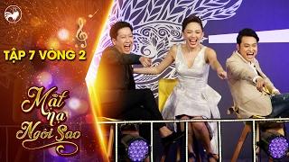 Mặt nạ ngôi sao | Tập 7 vòng 2: Quang Vinh, Tóc Tiên cười không ngớt vì người chơi siêu lầy