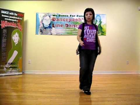 Hey Boy ~ Line Dance (Danced & walk thru)