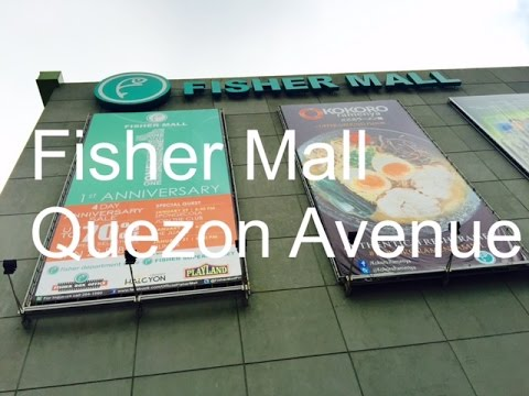 Fisher Mall Overview Walking Tour Quezon Avenue Quezon City by HourPhilippines.com