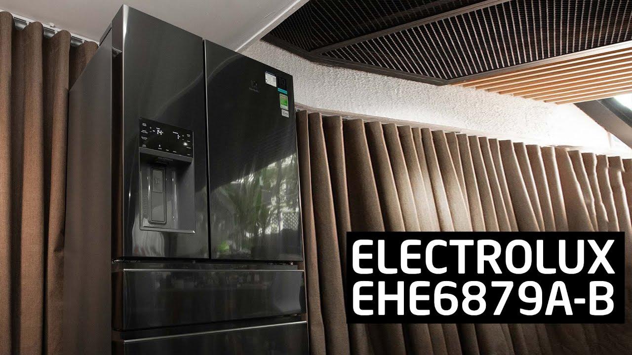 Trải nghiệm tủ lạnh 4 cửa Electrolux EHE6879A-B: 617L, thiết kế rất linh hoạt, 1,3 ký điện/ngày