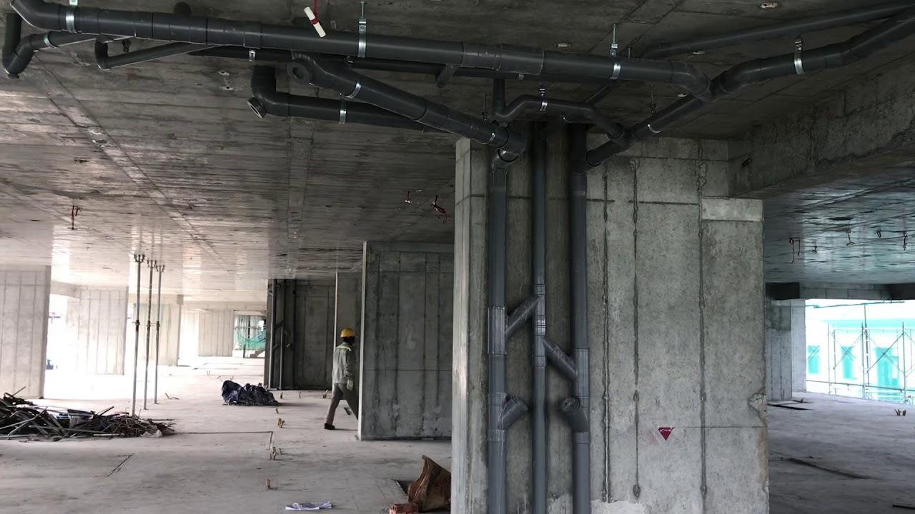Lắp đặt hệ thống thoát nước trung cư cao tầng